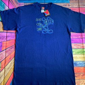Mickey Unlimited Disney Vintage T-Shirt - Large
